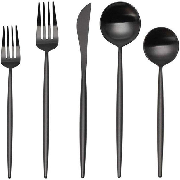 Feed them with a long handle Spoon Set