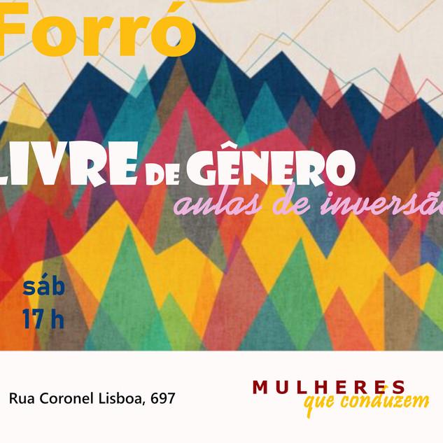 AULA DE FORRÓ LIVRE DE GÊNERO