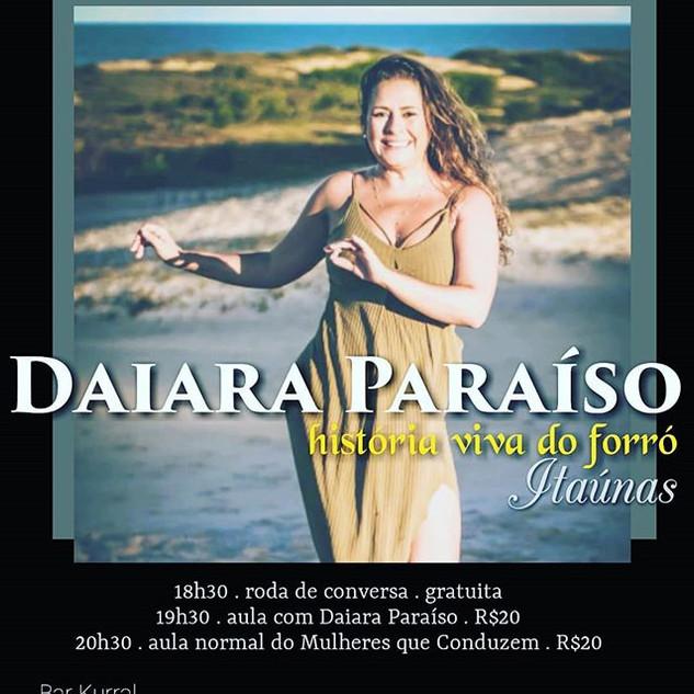 Daiara Paraíso__Quarta . 29 de maio__18h