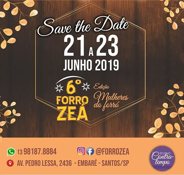 Estaremos presentes nesse evento maravil