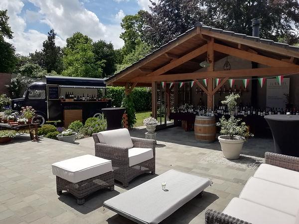 Mobiele wijnbar J&W Wines Antwerpen op locatie