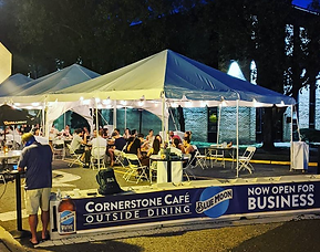 Outdoor Dining At The Cornerstone