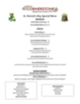 St Patricks Day Menu - 2020 .jpg