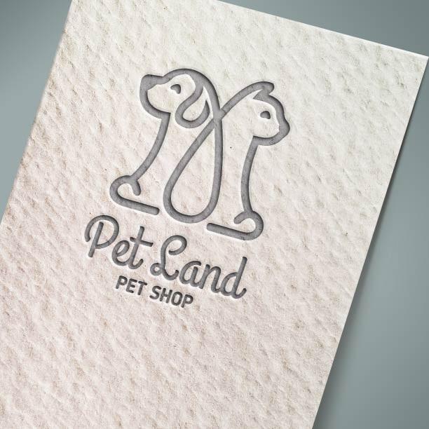 Λογότυπο: Pet Land