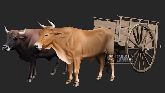 Ox-wagon (WIP)