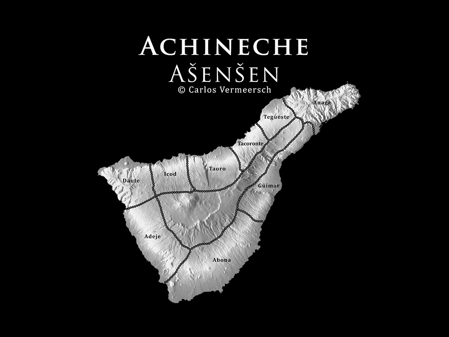Achineche after the division of the island between Tinerfe's 9 sons.  © Carlos Vermeersch