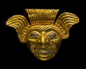 Golden ornament