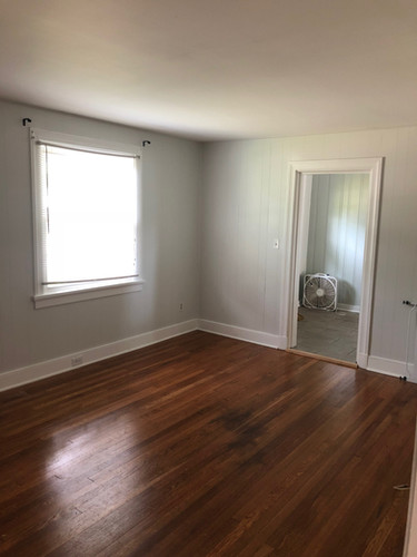 Fresh Paint and Refinished floors