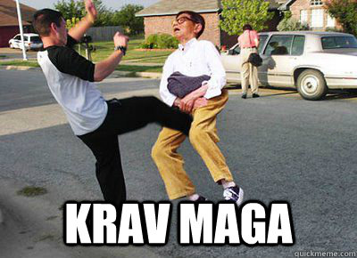 Why Krav Maga Is Over Rated