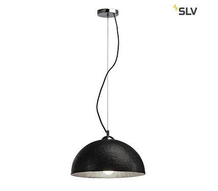 SLV Forchini zwart-goud hanglamp