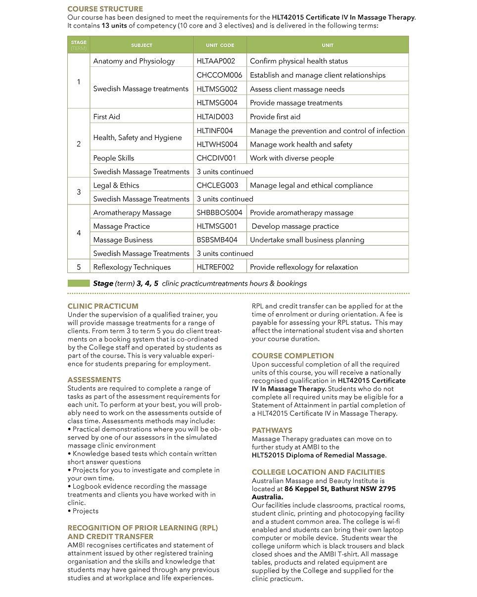 EDIT - Course Guide 2018 International W