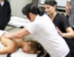 Body massage guidances