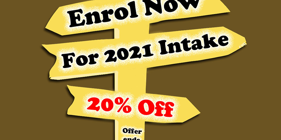 Early Bird Enrolment for 2021 Intakes
