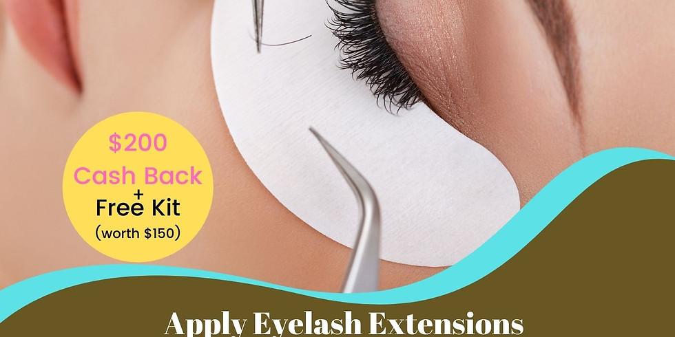 Eyelash Extensions - Bankstown