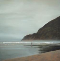 "Sunday Morning 48 x 48"" oil on canvas"