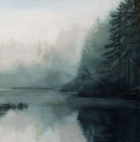 March Morning 18 x 18_ oil on canvas