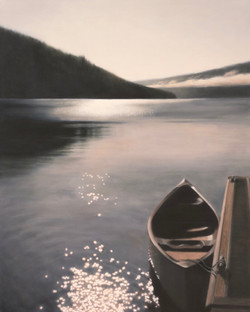 "Invitation ll, 60 x 48"" oil on canvas"