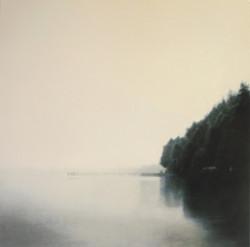 "Still Moment 48 x 48""oil on canvas"