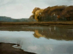 "Middlefork Savannah 36 x 48""oil"