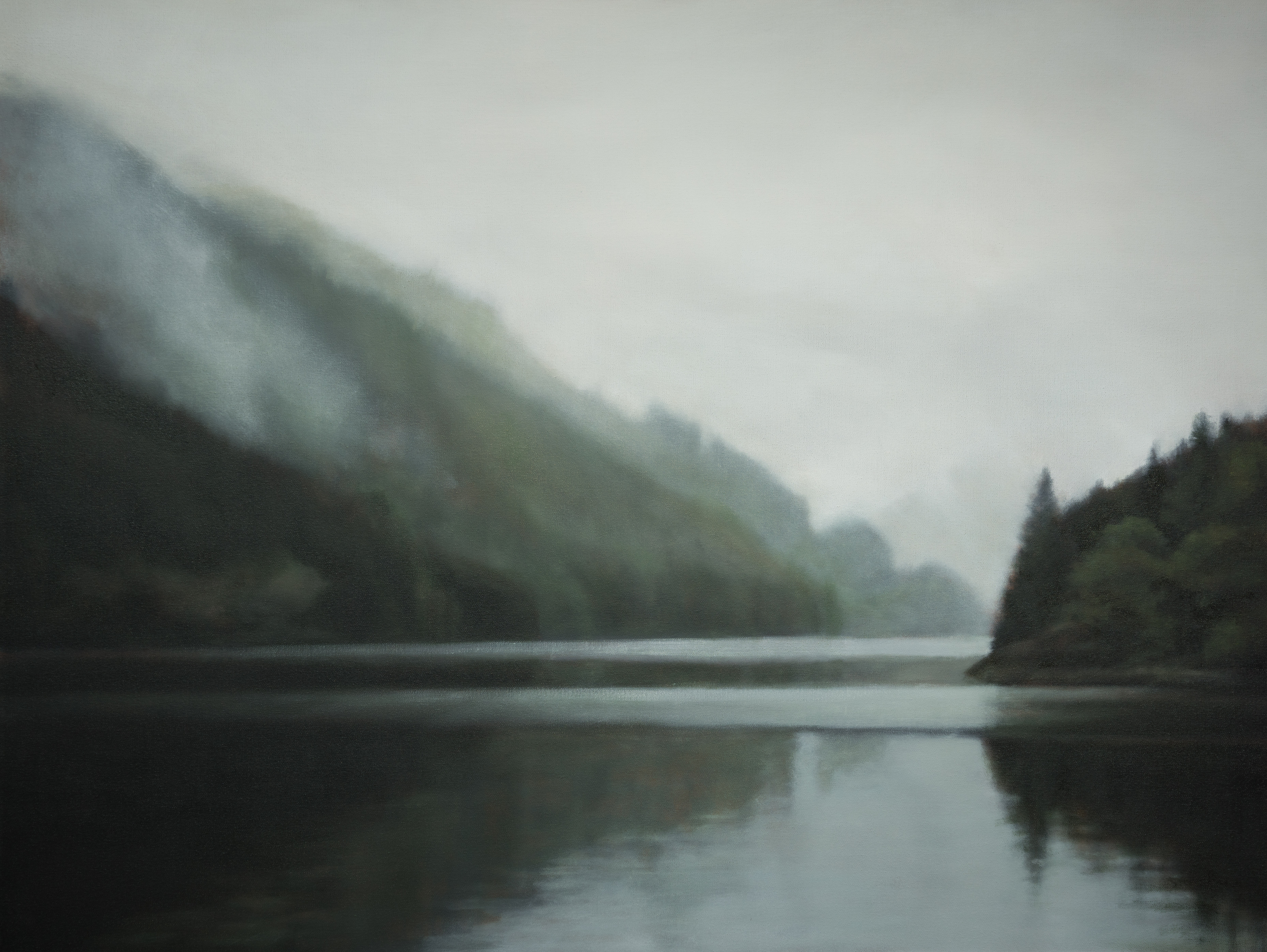 "Hymn to the Northwest 36 x 48"" oil"