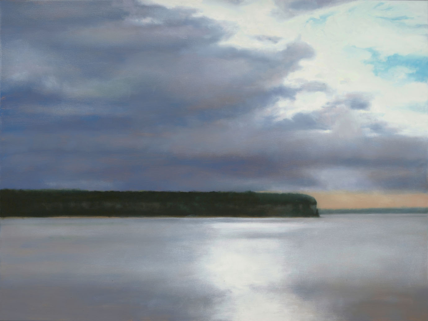 "Ellison Bay  24 x 48"" oil"