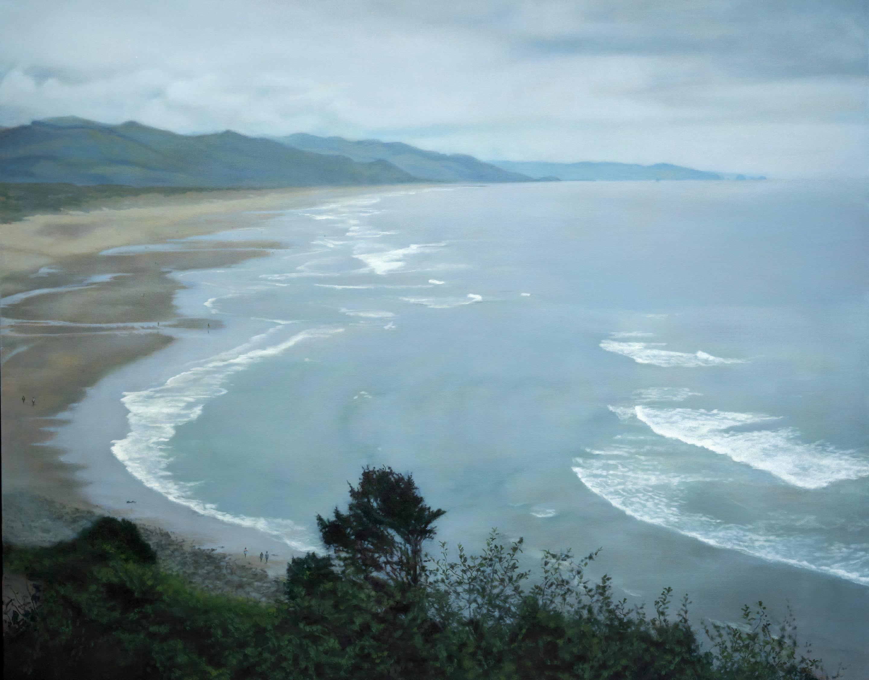 "Manzanita Coastline 48 x 60""oil on canvas"