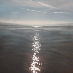 "Dream Tracks 48 x 48"" oil on canvas"