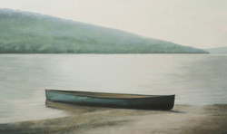 """All Quiet 36 x 60""""oil on canvas"""
