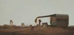 """Fair Haven 18 x 36""""oil on canvas"""