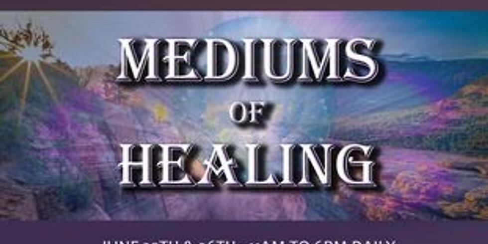 SHR Presents Mediums of Healing Event