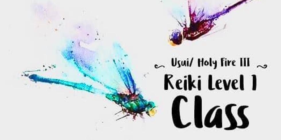 Usui/ Holy Fire III Reiki level 1 (1)