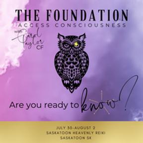 Access Consciousness- Foundation class!