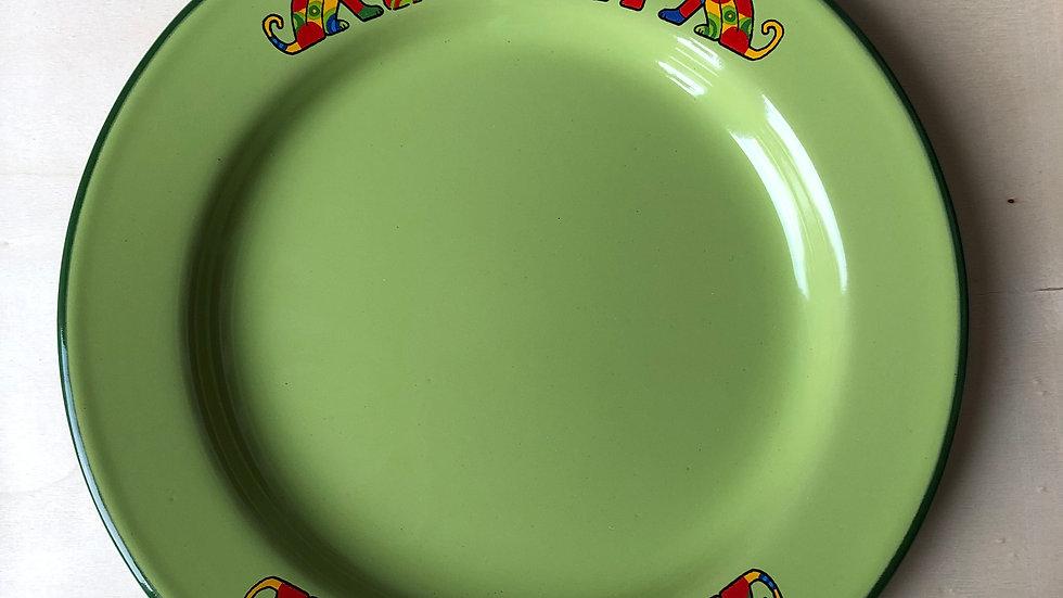 Enamel plate - Dog
