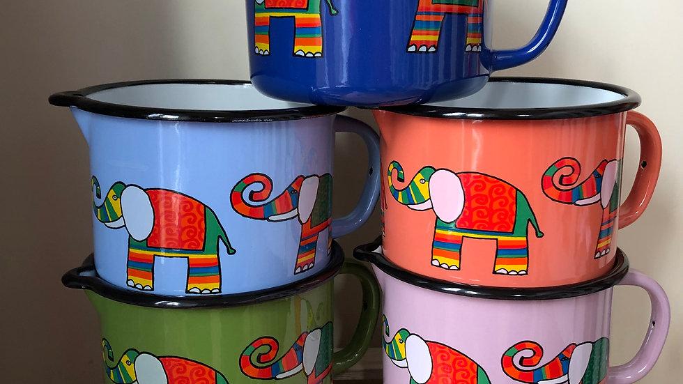 Enamel jug - Elephant