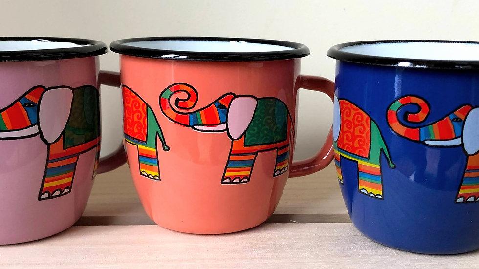 Enamel Conical Mug 250 ml capacity