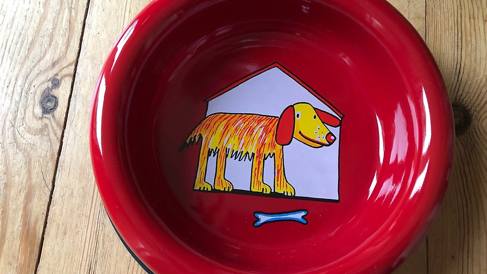Dog Bowl 20cm diameter