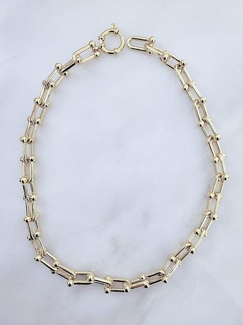 U Link Hardware Necklace