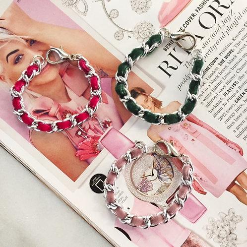 Micro Velveteen Bracelets