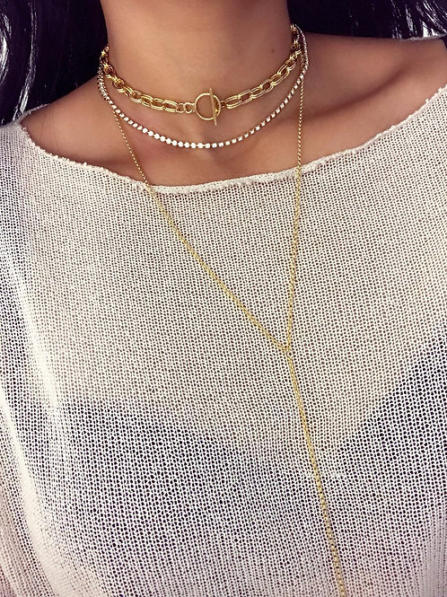 Double Links Toggle Choker
