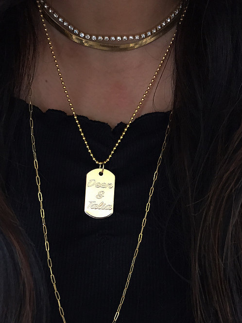 ID Tag Necklace