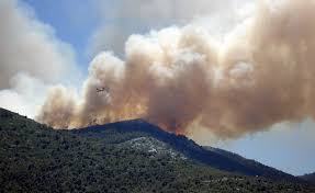 Wildfire Smoke Odor in California, Orange County