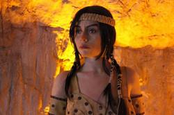 Amazon Kadın Heykeli