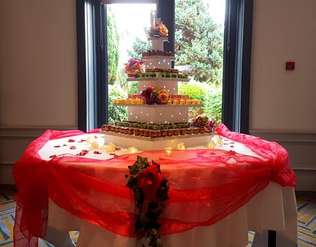 weddings cork desserts