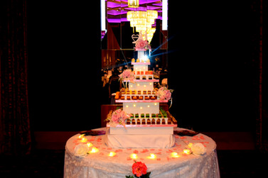 weddings cork chocolate tower
