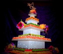 wedding cake idea cork