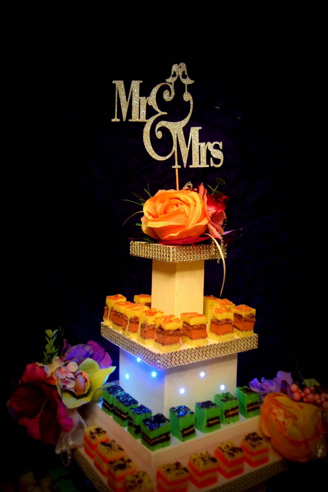 wedding cake idea cork