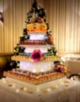 wedding cake alternaive cork