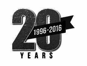 20th Anniversary-November 2016