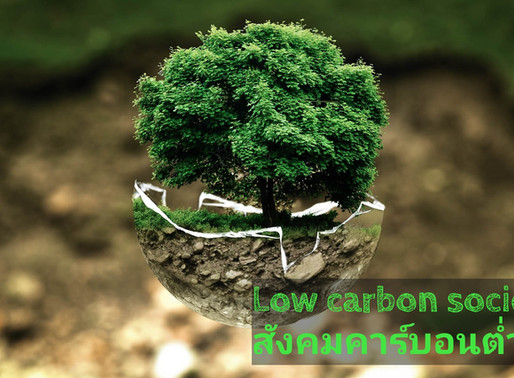 Low carbon society สังคมคาร์บอนต่ำ