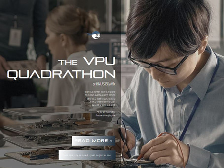 VPU is organizing first of it's kind engineering competition - The VPU Quadrathon!